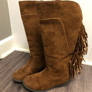 9be85d1597d Kids Justice Fringe Boots on Poshmark